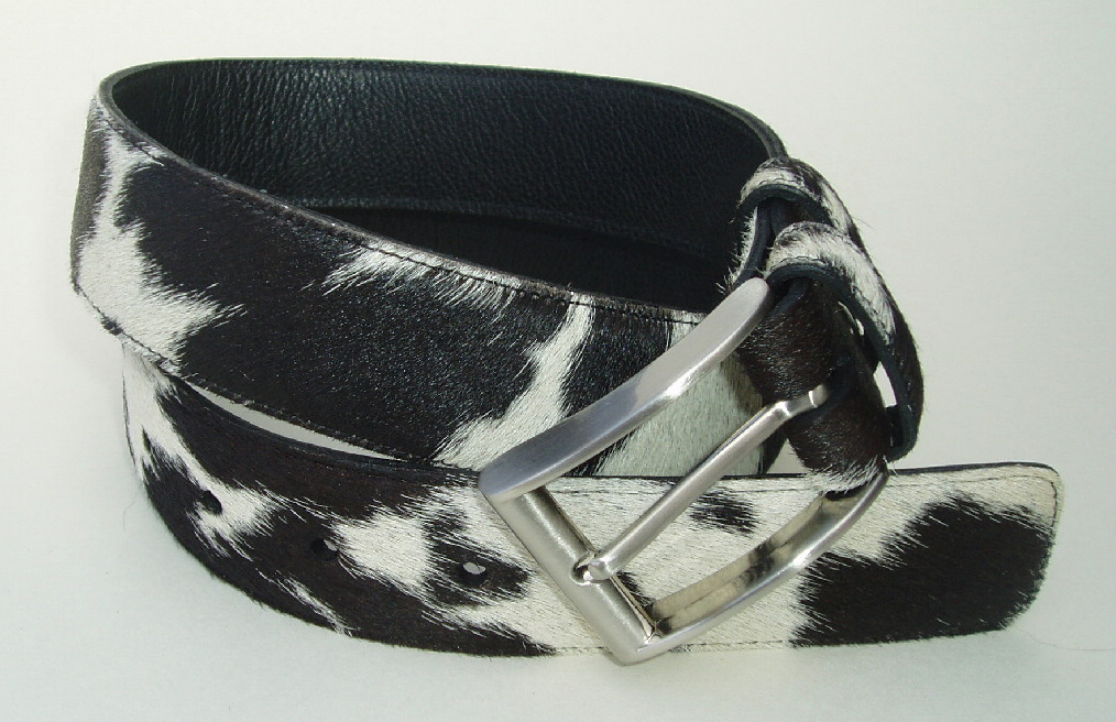 Hair Cowhide Belts