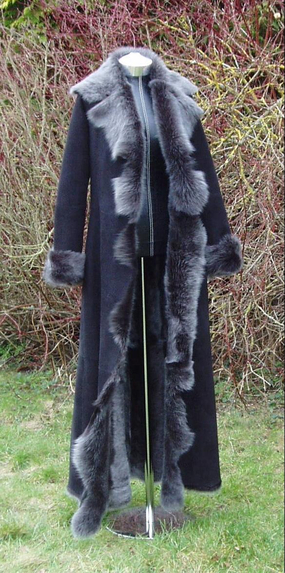 Shearling Lambskin and Sheepskin Coats and Jackets