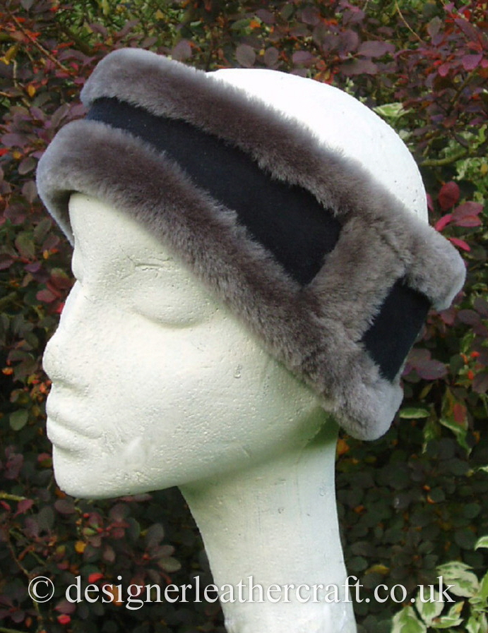 Merino Sheepskin Headband x