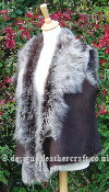 Brown Brisa Suede Finish Toscana Sheepskin Gilet 16 18