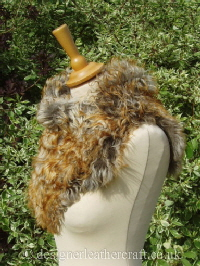 Curly Tigrado Shearling Wrap