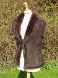 Chocolate Toscana Lambskin Gillet Sold