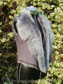 Cropped Toscana Shearling Gilet