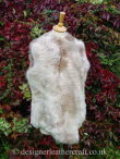 Front of the Beige Ombre Toscana Shearling Gilet Reversed BL23