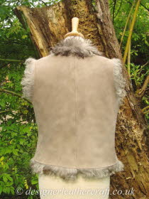 Gilet Has  a Back Length of 19