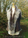 Grey Brisa Toscana Shearling Gilet 10-12 Bl 21- 22 inches
