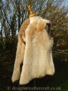 Honey Brisa Toscana Shearling Gilet Reversed to the Wool