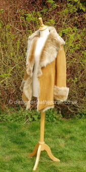 Honey Toscana Shearling Jacket 4
