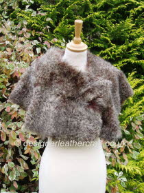 Individual Leopard Print Toscana Shearling Wrap