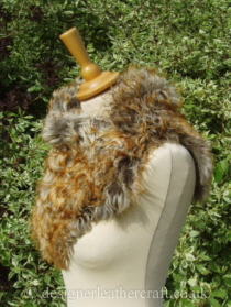 Pavone Tigrado Shearling Sheepskin  Wrap Pic 3