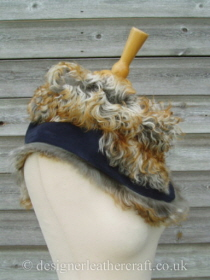 Pavone Tigrado Shearling Sheepskin  Wrap Reversed Pic 4