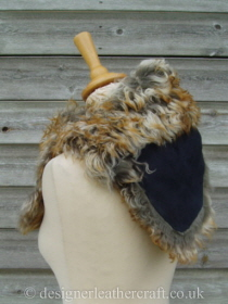 Pavone Tigrado Shearling Sheepskin  Wrap Reversed Pic 6