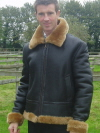Sample Sheepskin Flying Jacket 2