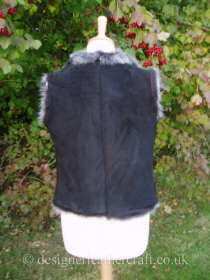 Shearling Gilet with a Back Length of just 20 inches