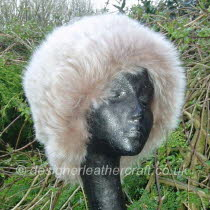 Tipped Toscana Shearling Hat