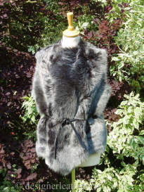 Toscana Gilet Reversed to the Black Brisa Wool